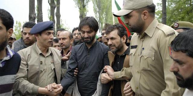 Separatist leader Yasin Malik arrested in Srinagar
