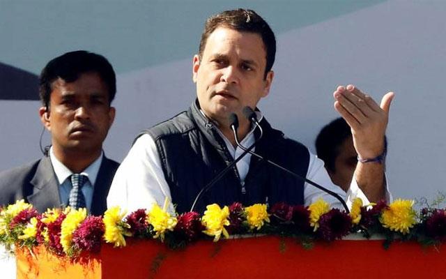 Cashless ATM: Rahul Gandhi slam Modi by saying modiji has destroyed the banking system