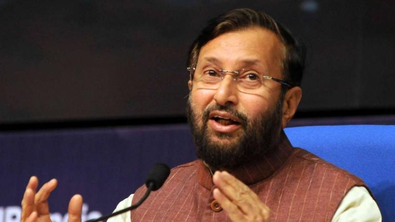 Union Minister Prakash Javadekar presents report card of 50 days of govt