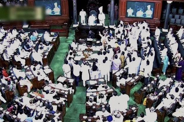 TMC, BJP members exchange heated words in Lok Sabha