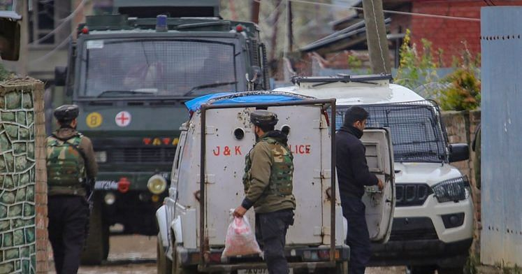 Militant killed in encounter in J&K