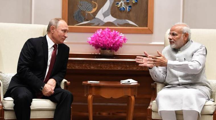 Modi, Putin hold restricted meeting in New Delhi