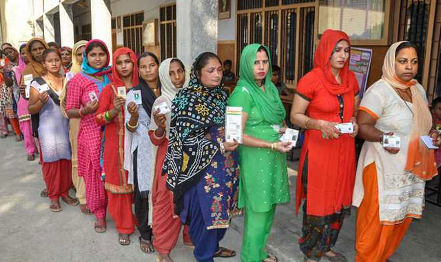 Polling concludes peacefully for assembly elections of Maharashtra and Haryana