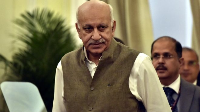 MJ Akbar resigns as junior foreign minister after allegations of sexual harassment