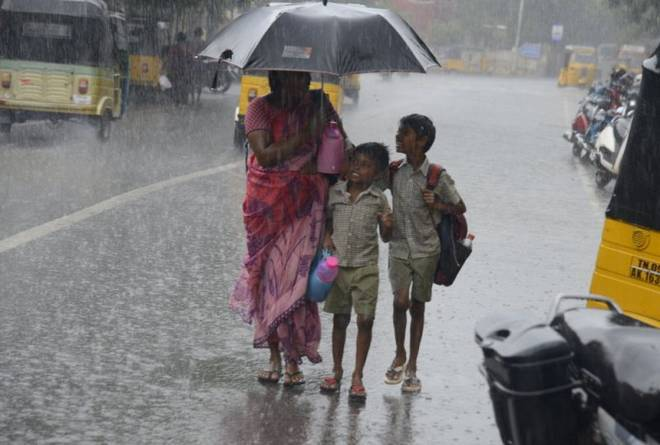 Cyclone storm Gaja: Rainfall at many places in north coastal Tamil Nadu