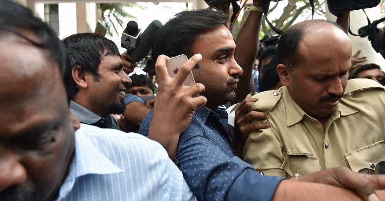 Amit Mishra held, released on bail