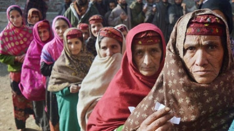 Polling begins in Jammu and Kashmir panchayat election