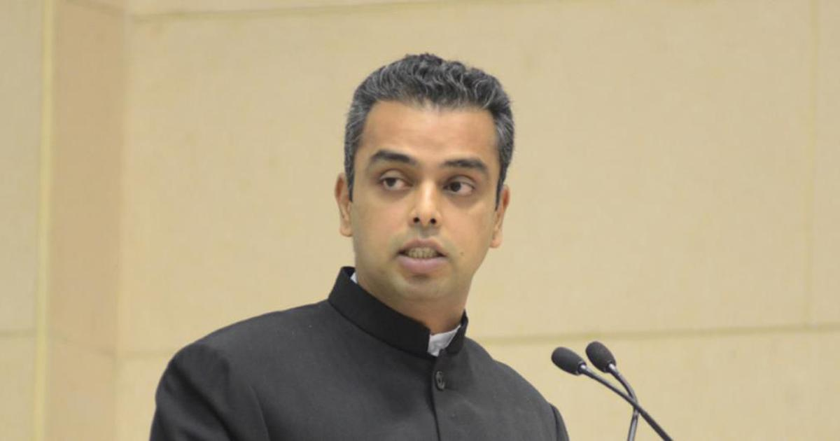 EC censures Milind Deora for violating Model Code of Conduct