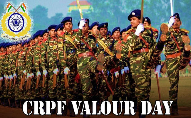 CRPF celebrating its 54th Valour Day today