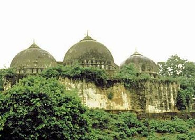 Spare graveyard land around Babri Masjid: Lawyer to Ram temple trust