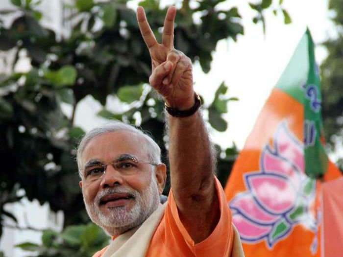 Modi congratulates BJP workers for exceptional win in Assam
