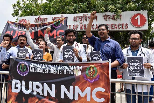Medical body calls for 24-hour strike on Wednesday against NMC Bill