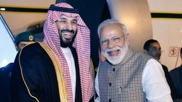 PM Modi to hold talks with Saudi Crown Prince Mohammed Bin Salman in New Delhi today