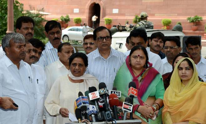 PM Modi misguiding country on reservation issue: Mayawati