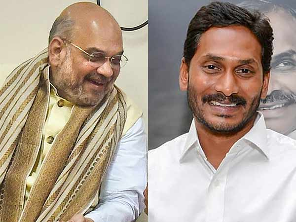 Jaganmohan Reddy to meet Amit Shah in Delhi today