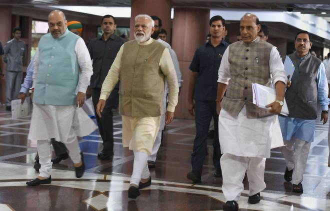 PM Modi, Shah salute people who resisted Emergency