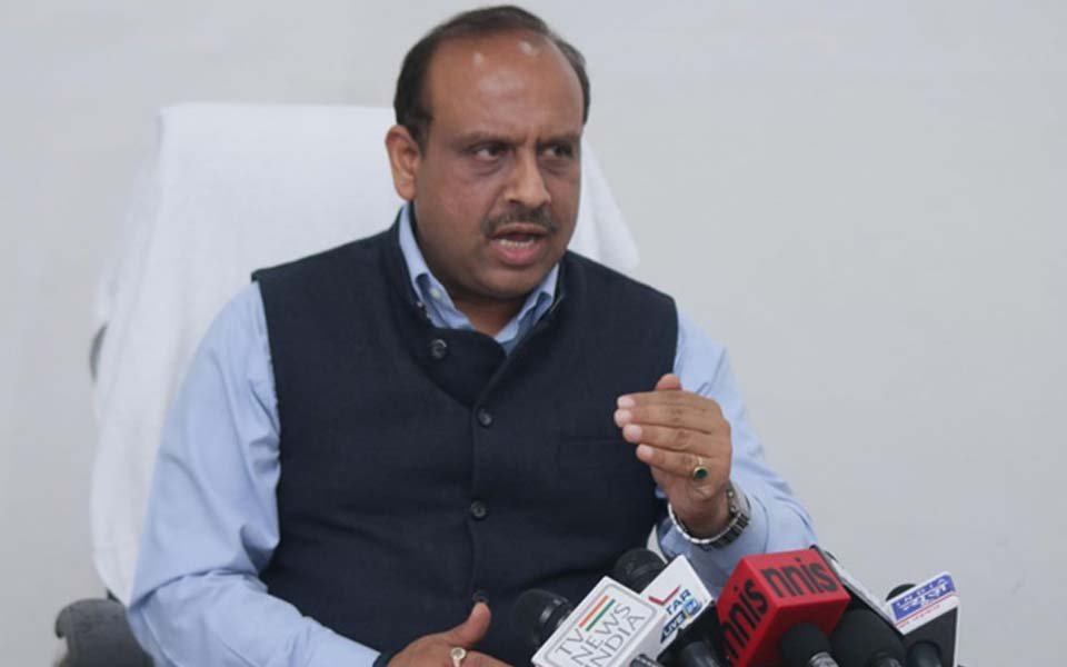 BJP MLA Vijender Gupta suspended for using unparliamentary language