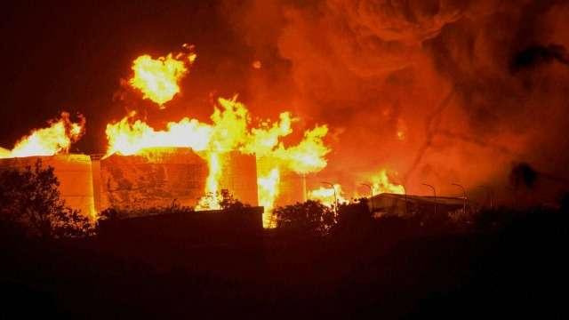Fire breaks out in godown in Tughlakabad village area of south Delhi