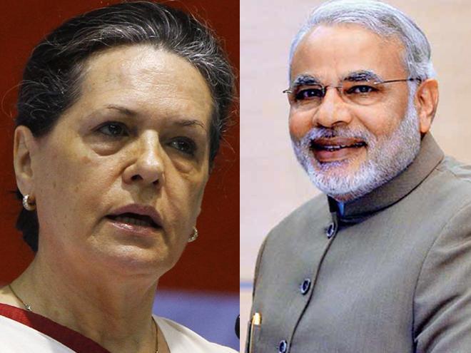 Modi wishes Sonia Gandhi on her 69th birthday