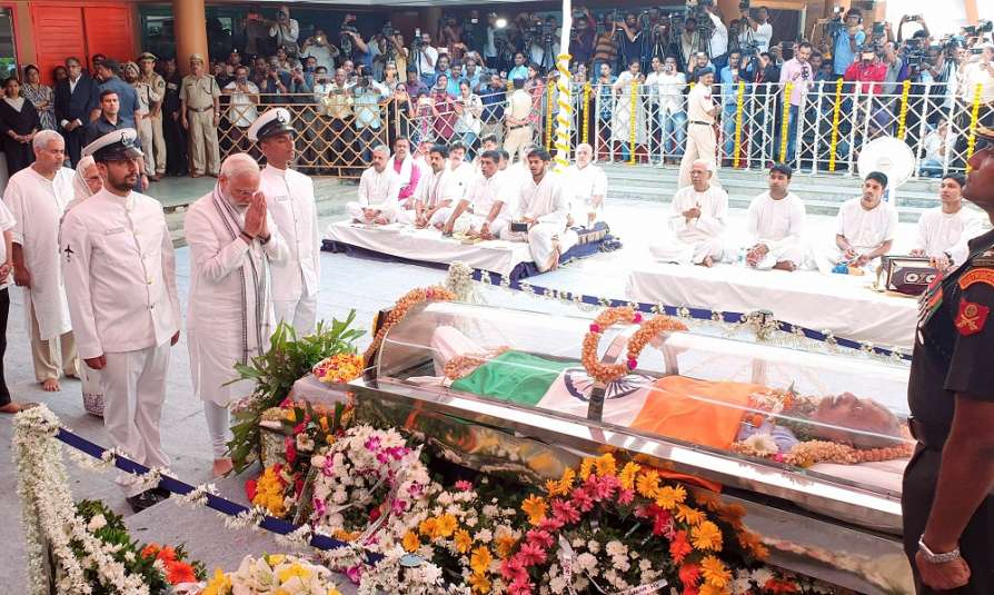 PM Modi pays tribute to Goa CM Manohar Parrikar