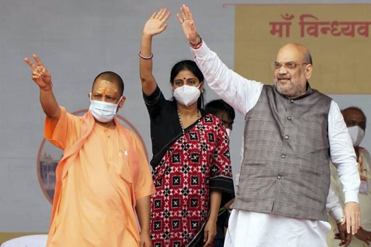 Shah lauds Yogi on law and order in UP