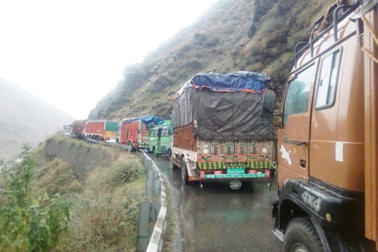 Srinagar-Leh highway closed due to landslides