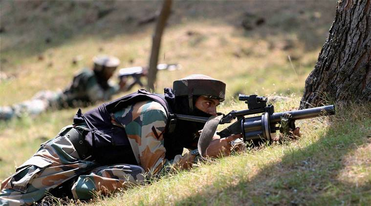Pakistan violates ceasefire in Nowgam