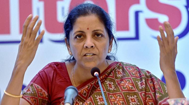 Current agrarian crisis is result of Congress misrule: Nirmala Sitharaman