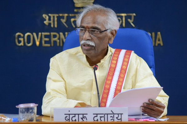 Centre commited to ensure equality for women: Bandaru Dattatreya