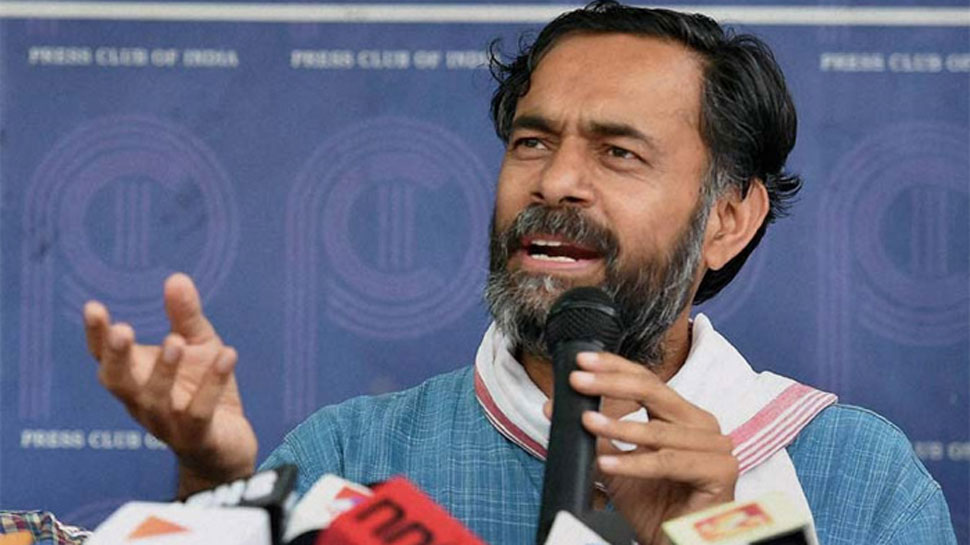 Yogendra Yadav detained in Tamil Nadu, says mobile snatched, pushed into police van