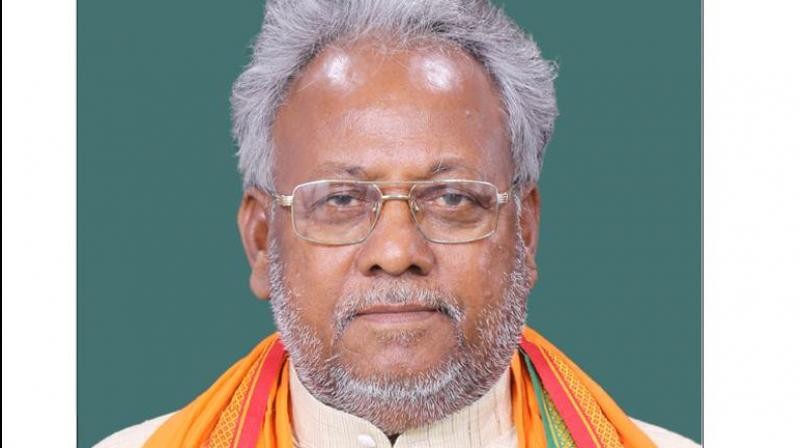 BJP MP Rajbhar demands house for Lord Ram under PM housing scheme
