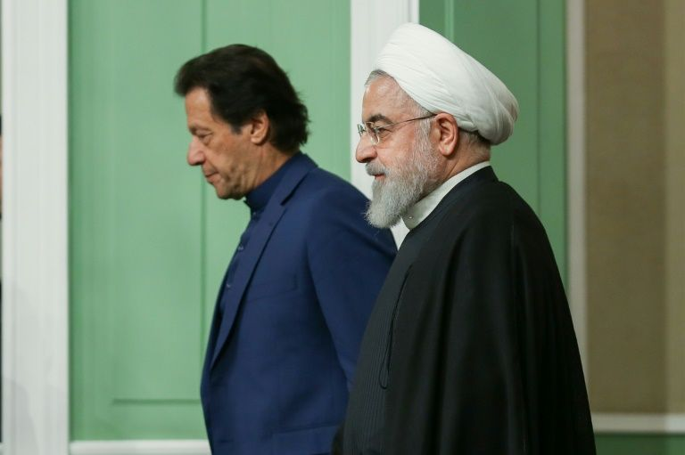 Pakistan PM Imran Khan discusses Kashmir issue with Iranian President Hassan Rouhani