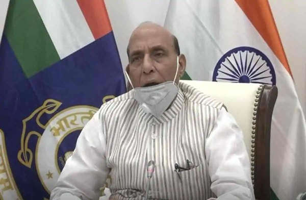 Defence Minister Rajnath Singh launches 15 products developed by Defence PSUs