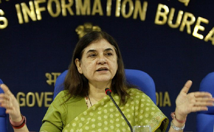 Maneka Gandhi urged Finance Minister Piyush Goyal not to tax gifts to wives or daughters-in-law