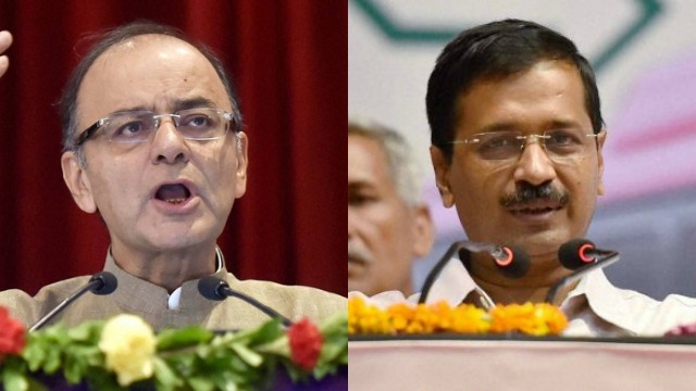 BJP asks Kejriwal to apologise to Jaitley for false allegations against him