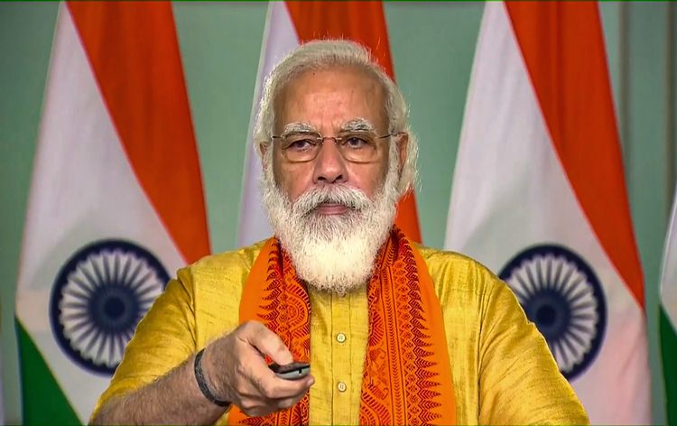 PM Modi says the Ministry of Jal Shakti is now engaged in the mission of delivering water to every house in the country