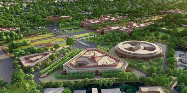 Construction work of new Parliament building begins