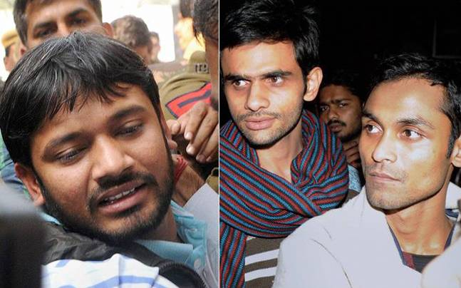 JNU row: Kanhaiya, others go on indefinite hunger strike