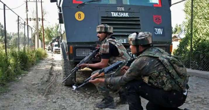 Two terrorists killed in Budgam district, J&K