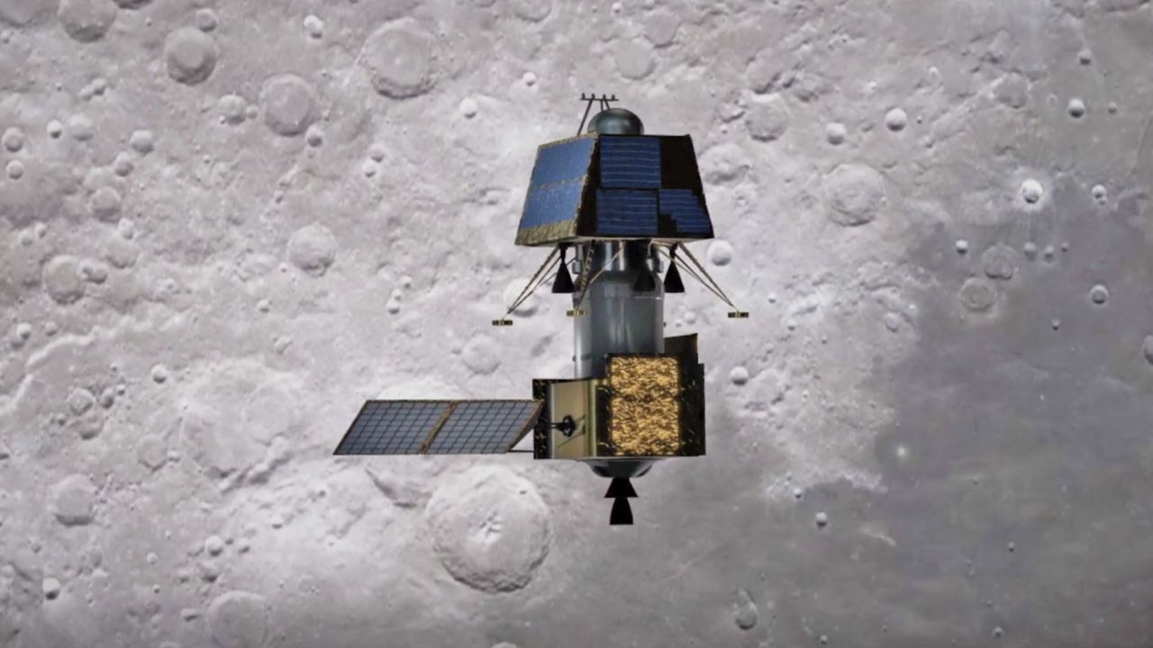Chandrayaan-2 in its second orbital manoeuvre in lunar orbit