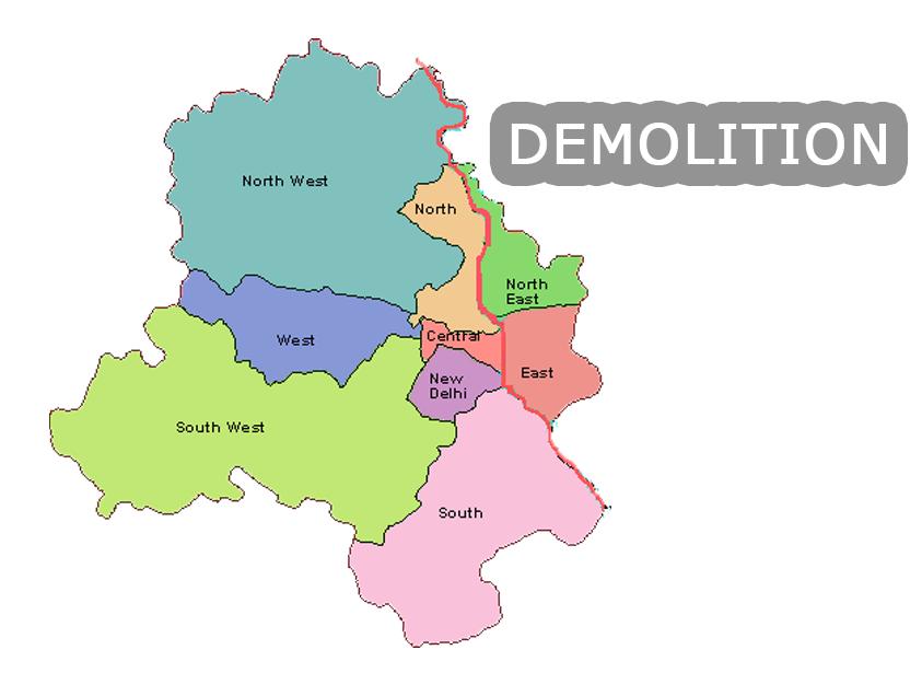 demolitionoftempleposponedineastdelhi