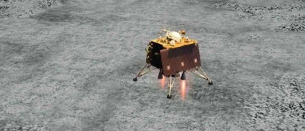NASA captures images of Chandrayaan-2