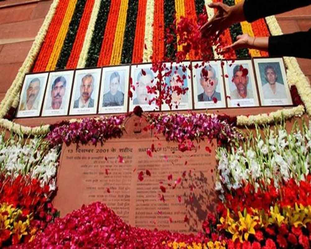 President Kovind pays tribute to victims of 2001 Parliament attack