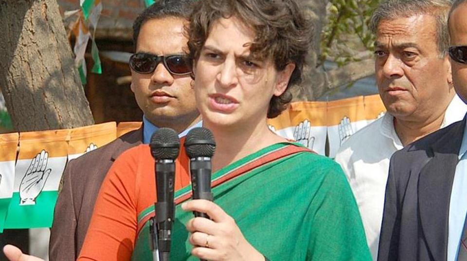 Priyanka Gandhi attacks Modi govt over Kashmir