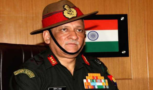 Army Chief Bipin Rawat on four day US visit