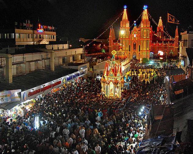 Velankanni Basilica annual fest starts in Tamil Nadu