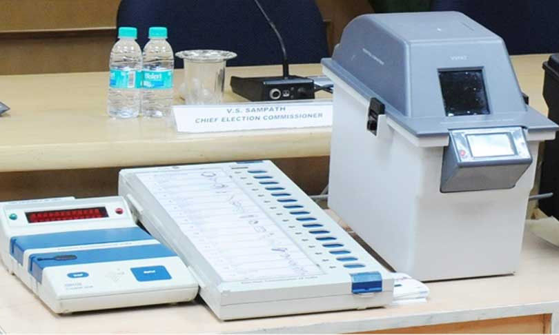 21 Opposition leaders seek review of SC order on matching of VVPAT slips with EVMs