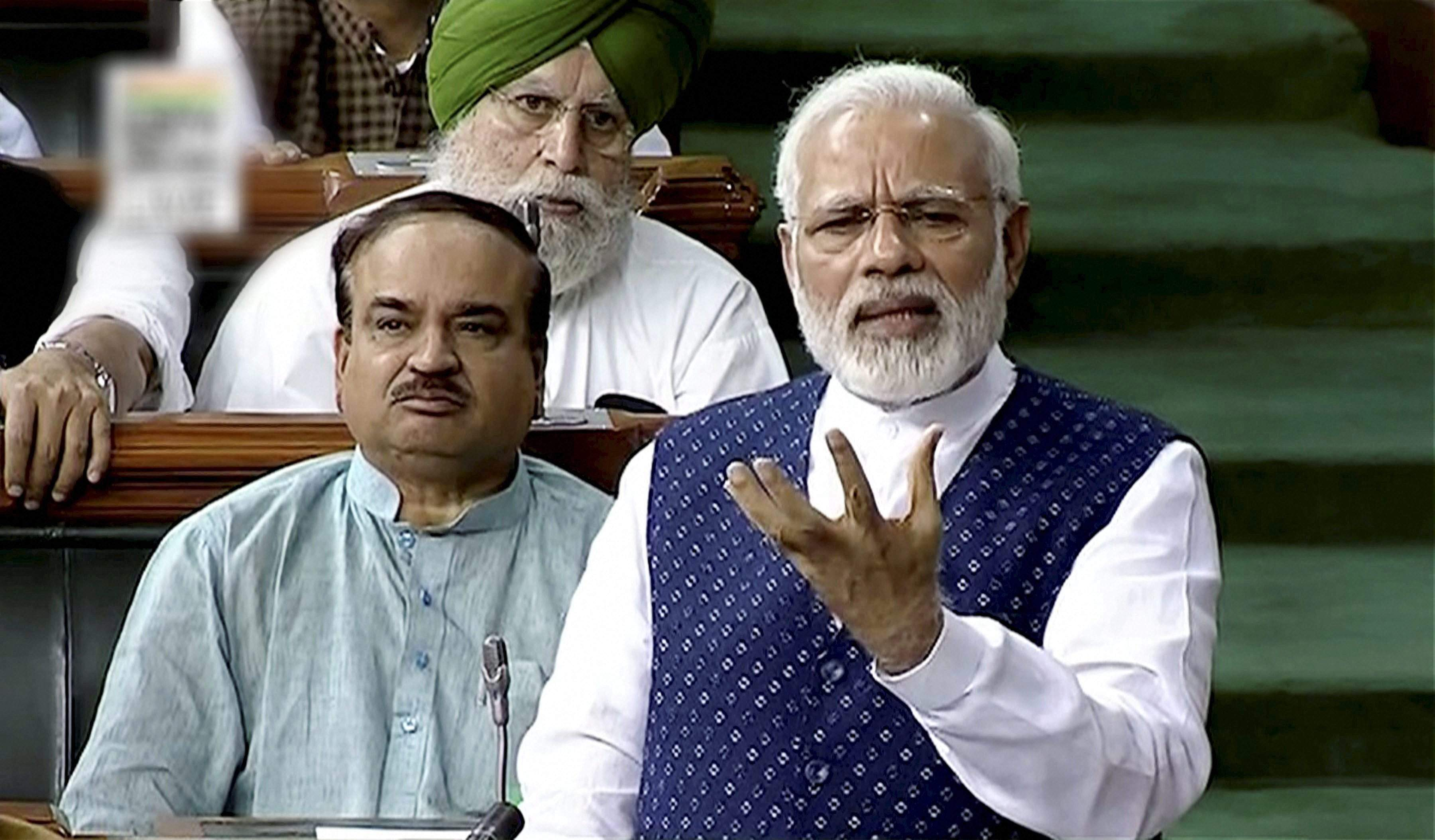 Congress split Andhra like it divided India for political gains: PM Modi