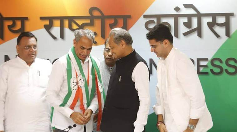 Sachin Pilot, Gehlot to contest Rajasthan Assembly polls; BJP MP joins Congress