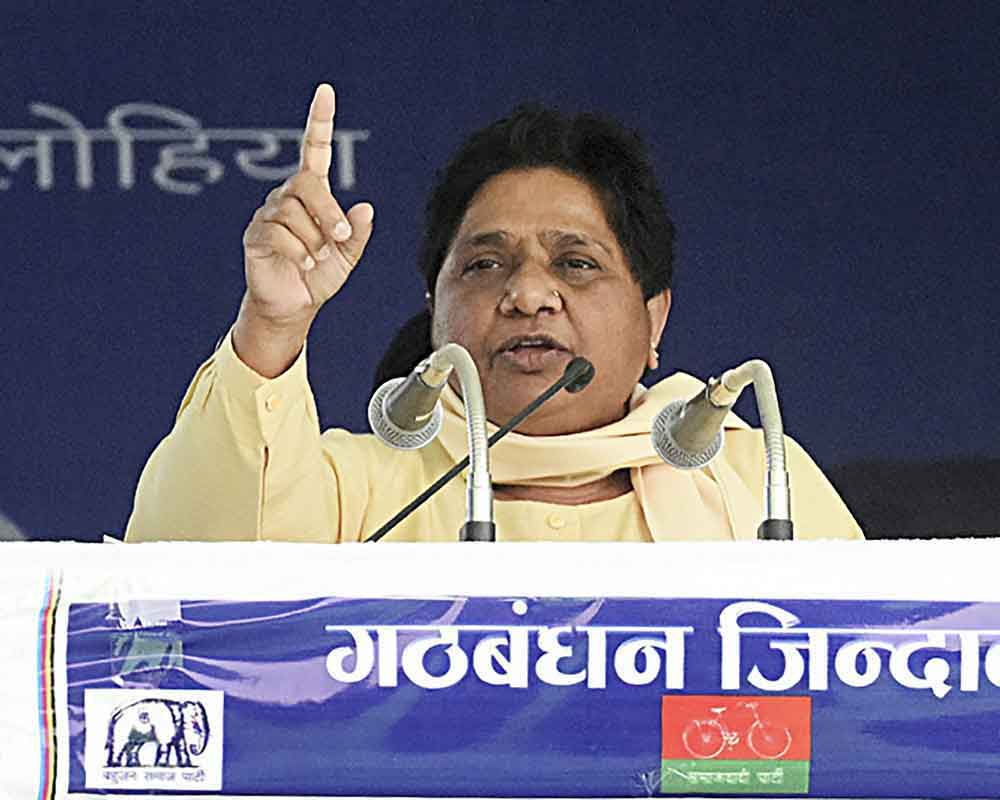 BSP-SP-RLD alliance is one of ideas: Mayawati
